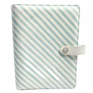 The Paper Studio Agenda 52 Snap Binder Teal White